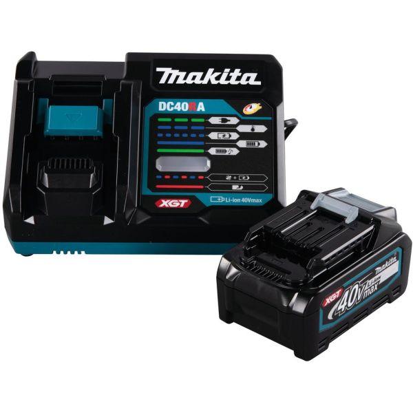 Makita 191J65-4 XGT Ladepakke 40 V, 4,0 Ah + hurtiglader