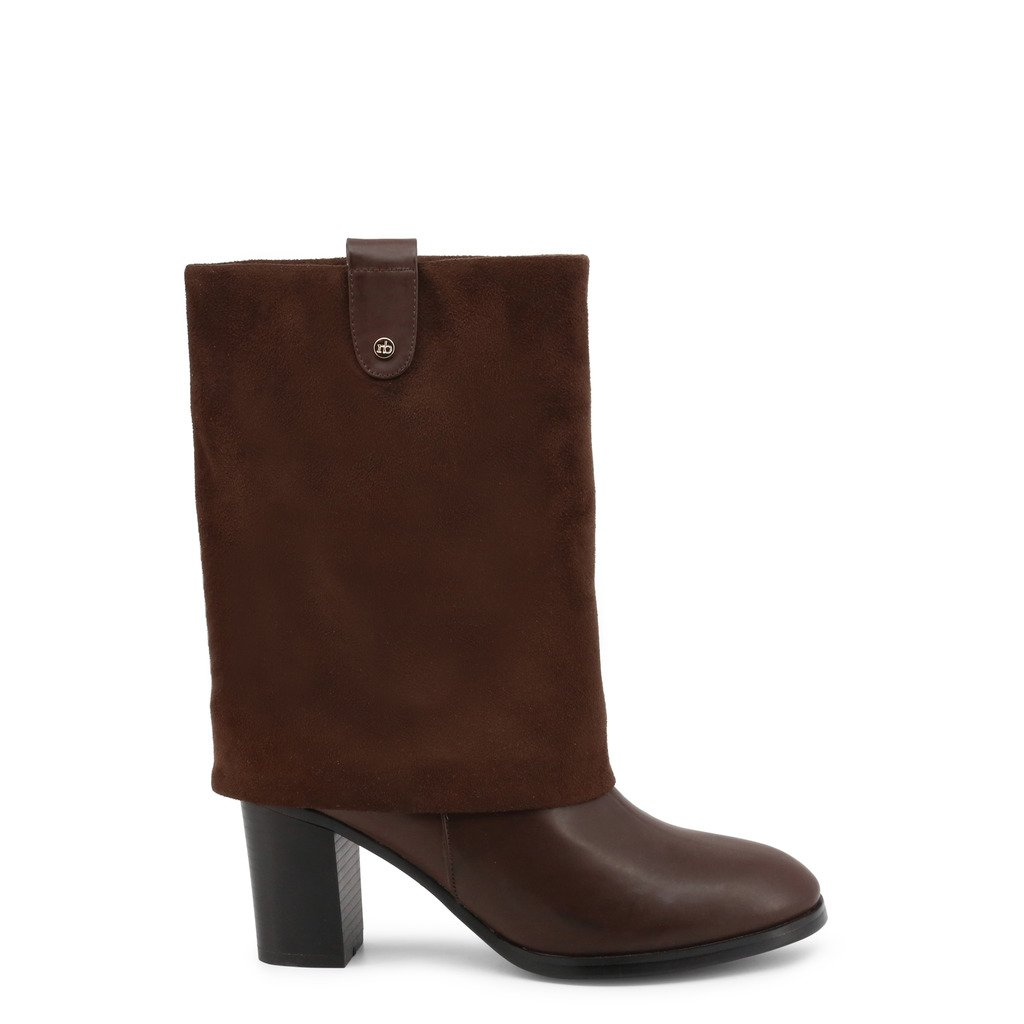 Roccobarocco Women's Ankle Boots Brown 341578 - brown EU 37