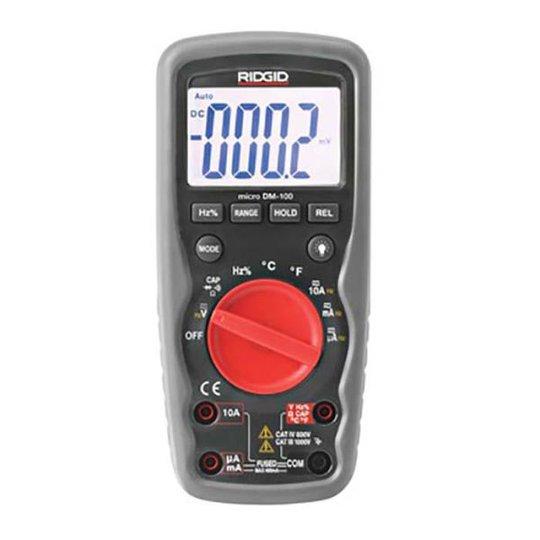 Ridgid DM-100 Yleismittari 9 V paristolla