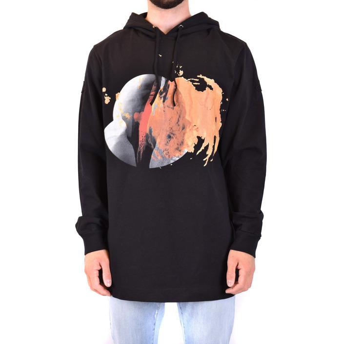Moncler Men's Sweatshirt Black 230099 - black S