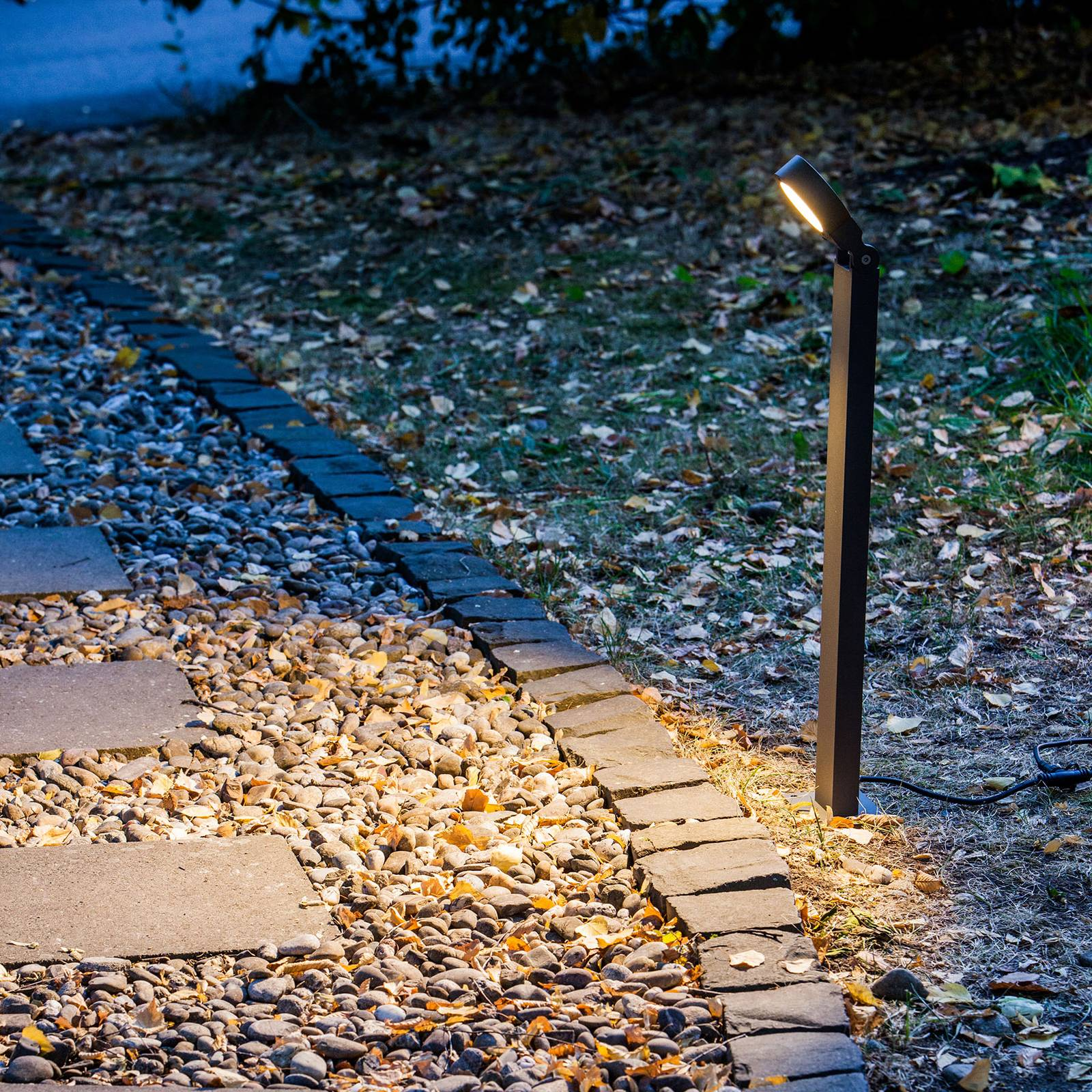 HEISSNER SMART LIGHTS -pylväsvalaisin 60 cm