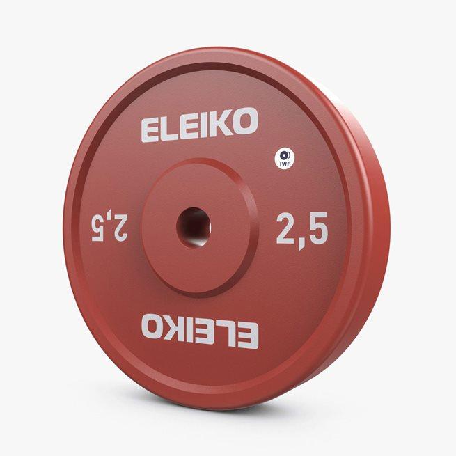 Eleiko IWF Weightlifting Technique Disc, Viktskiva Järn
