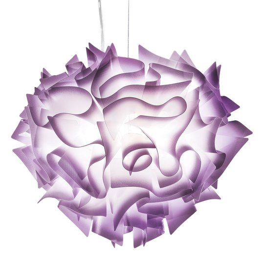 Slamp Veli -design-riippuvalo, Ø 60 cm, luumu