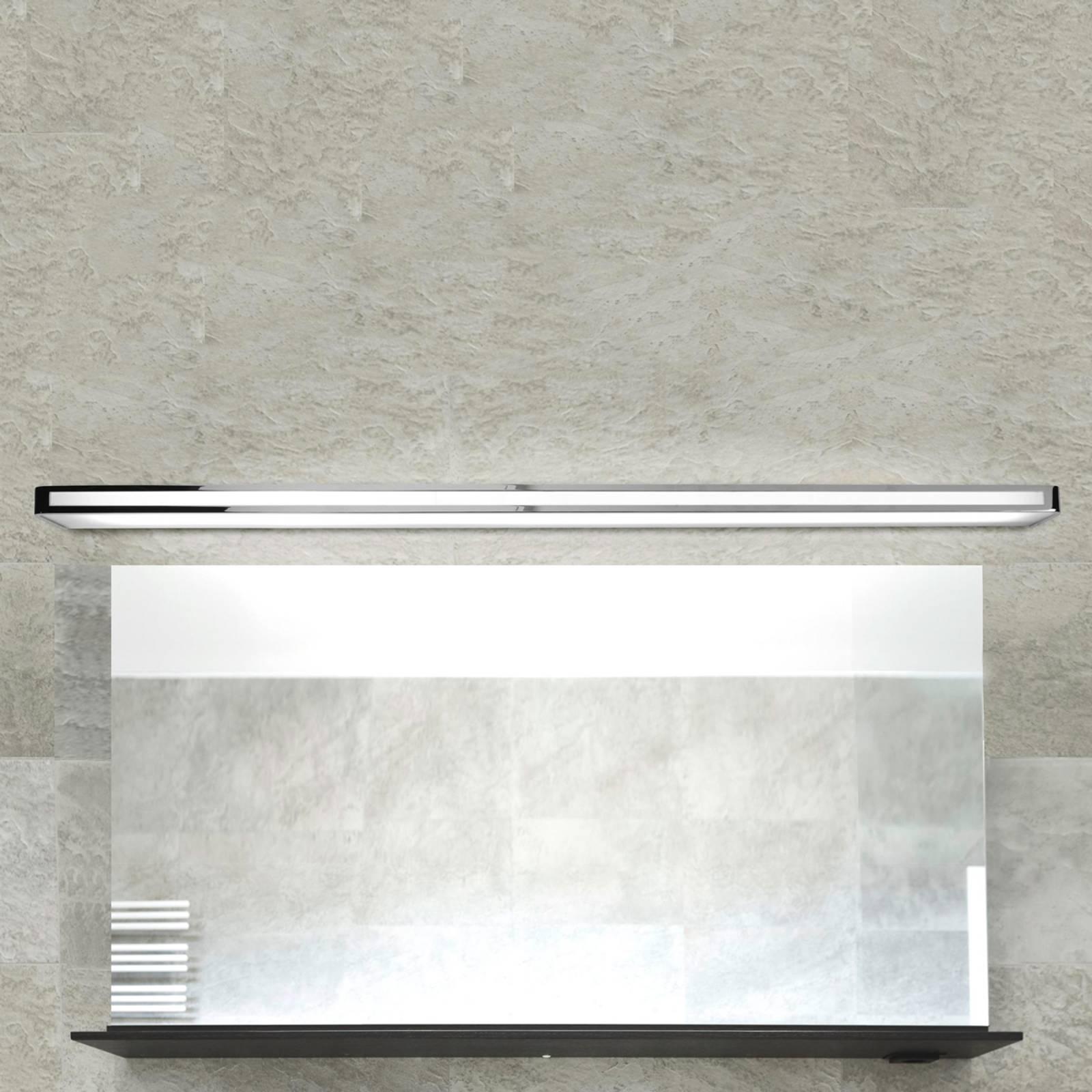 Ajaton LED-seinävalaisin Acros, 150 cm, kromi