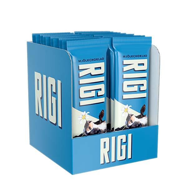 RIGI Mjölkchoklad 20g x 20 st