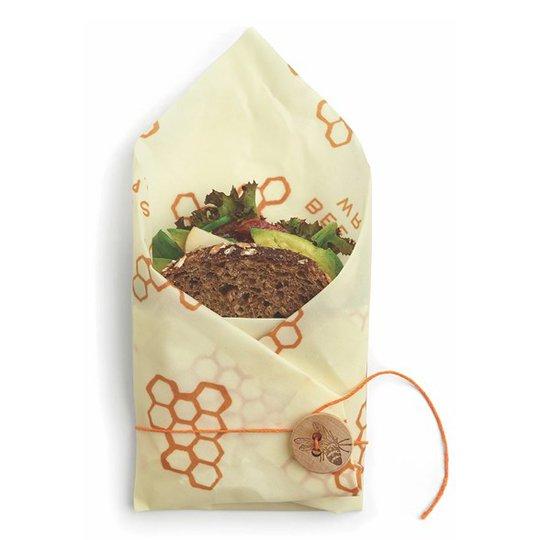 Bee's Wrap Naturligt Folie Sandwich Wrap - Original Print