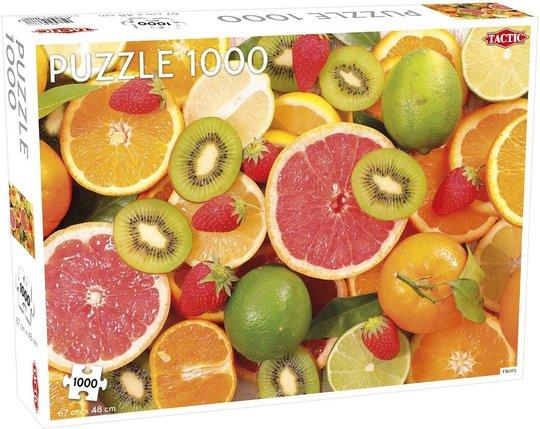 Tactic Puslespill Fruits 1000 brikker