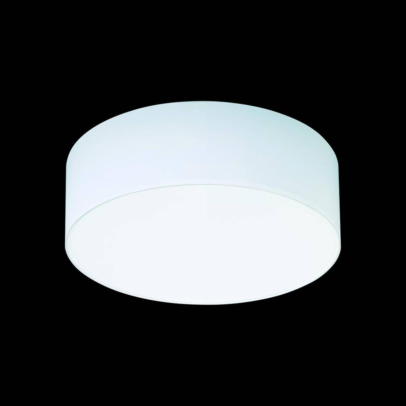 Hvit taklampe Mara, 40 cm