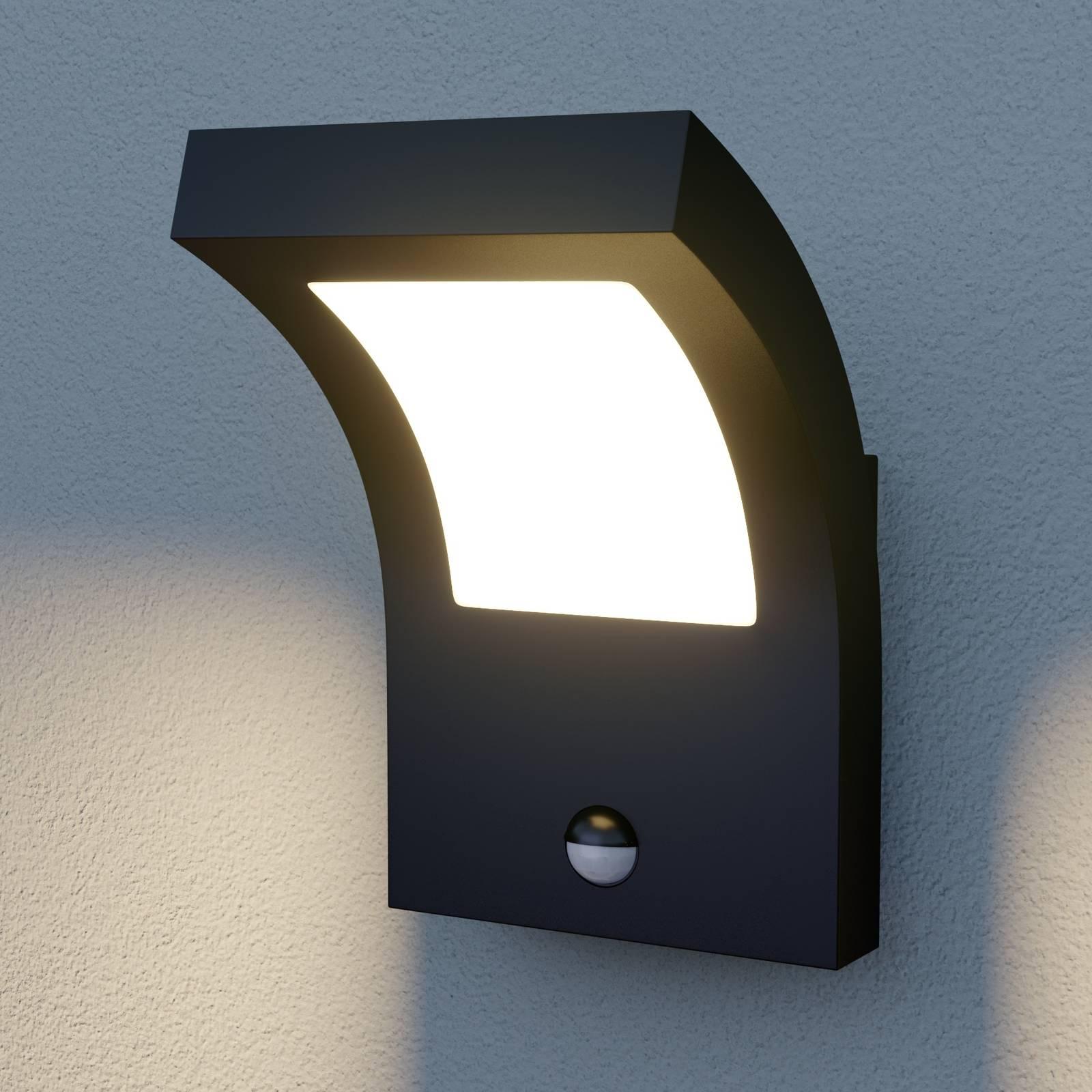Arcchio Advik LED -ulkoseinävalaisin, liikkeent.
