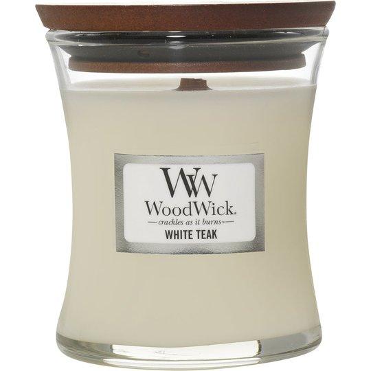 White Teak, WoodWick Tuoksukynttilät