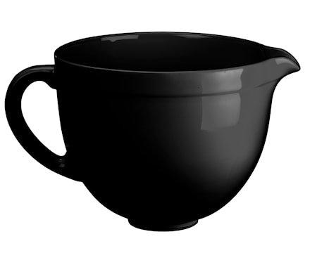 Artisan keramikkskål til kjøkkenmaskin svart 4,8 L
