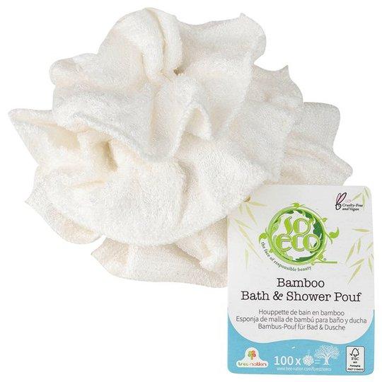 So Eco Bamboo Bath & Shower Pouf