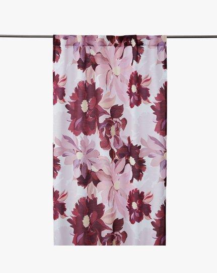 Georgia 120x240cm Curtain With Multi Tap, Vaaleanroosa, 120x240cm
