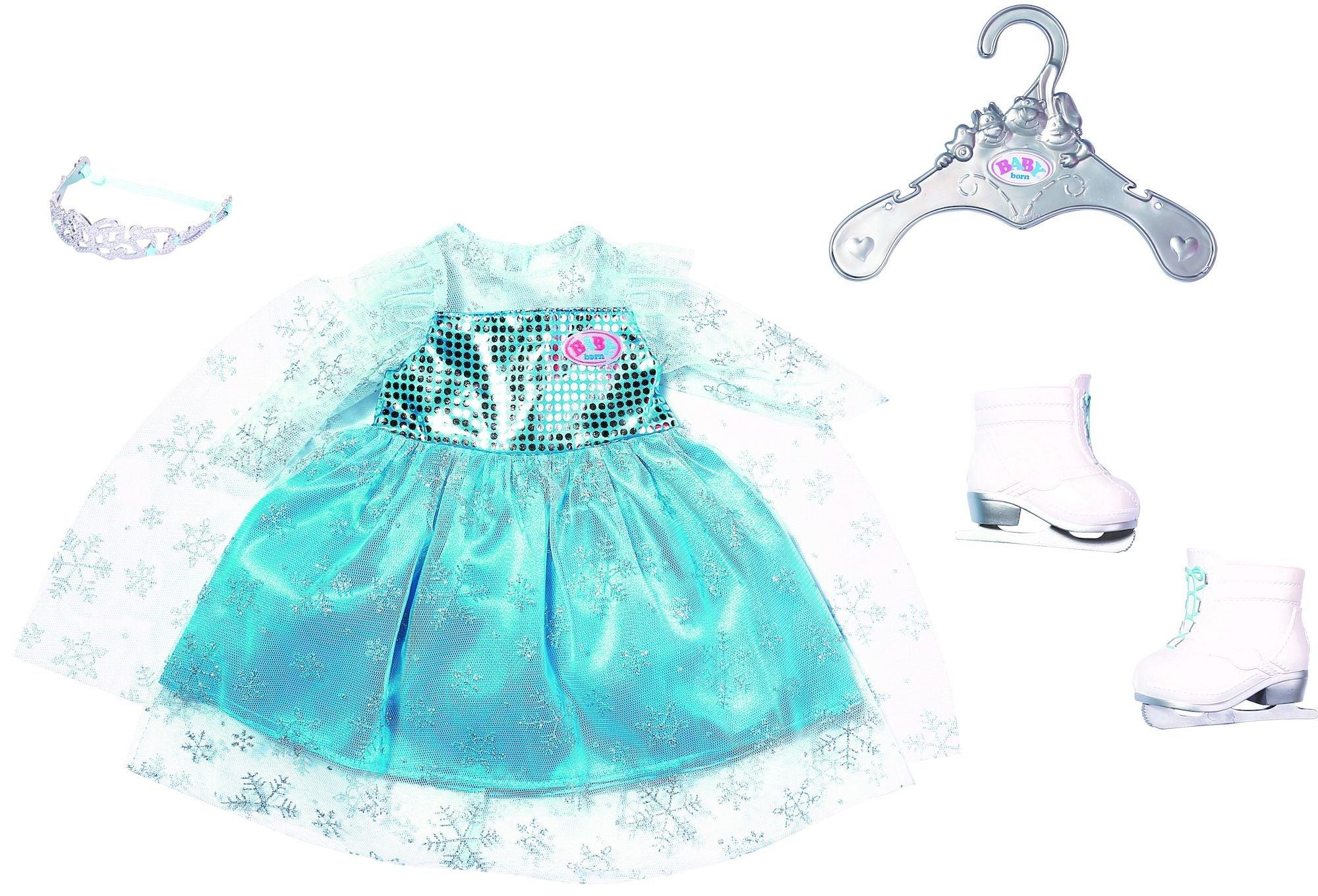 BABY Born Nukenvaatteet Princess On Ice Set 43cm