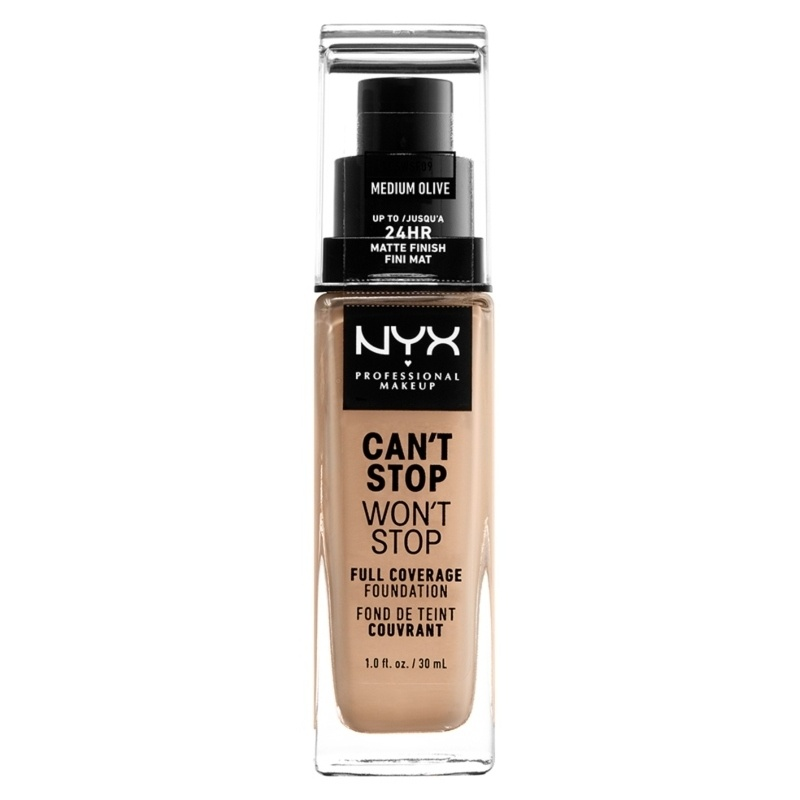 NYX Professional Makeup - Can't Stop Won't Stop Foundation - Medium Olive