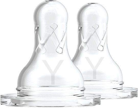 Dr. Brown's Option Smal Hals Flaskesmokk 9m+ Y-snitt