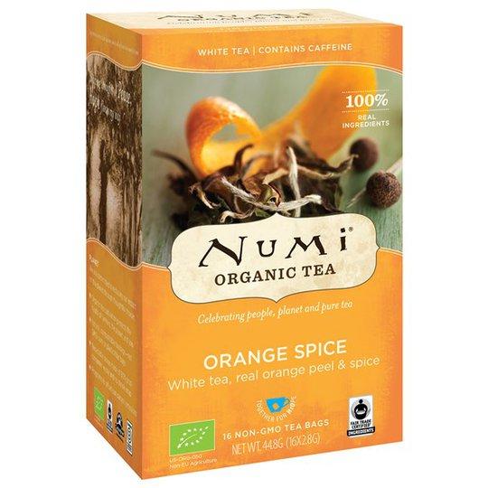 Numi Organic Tea Orange Spice, 16 påsar
