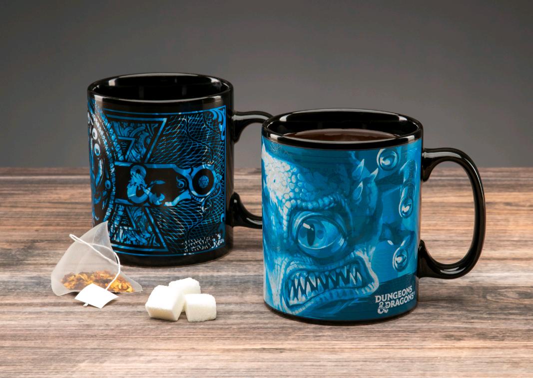 Dungeons and Dragons - Heat Change Mug XL (PP6637DD)