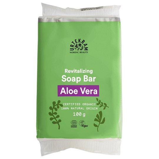 Urtekram Nordic Beauty Aloe Vera Soap Bar, 100 g