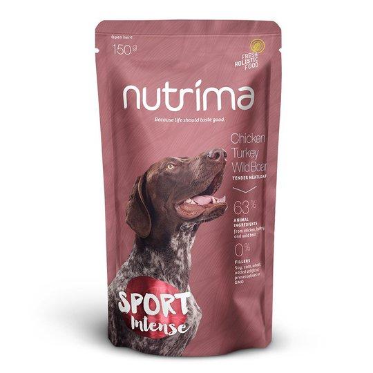 Nutrima Sport Intense Kyckling, Kalkon & Vildsvin 6 x 150 g