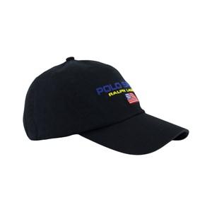 Ralph Lauren Black Branded Cap L (8-16 years)