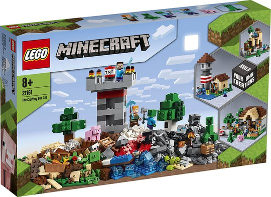LEGO Minecraft 21161 Konstruksjonsboks 3.0