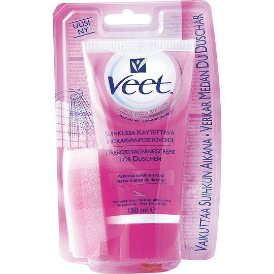 In Shower Hair Removal Cream For Normal Skin, 150 ml Veet Ihokarvanpoistovoide