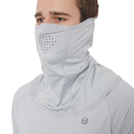 FHM Mark Mask UPF 50+ Light Grey ansiktsmask