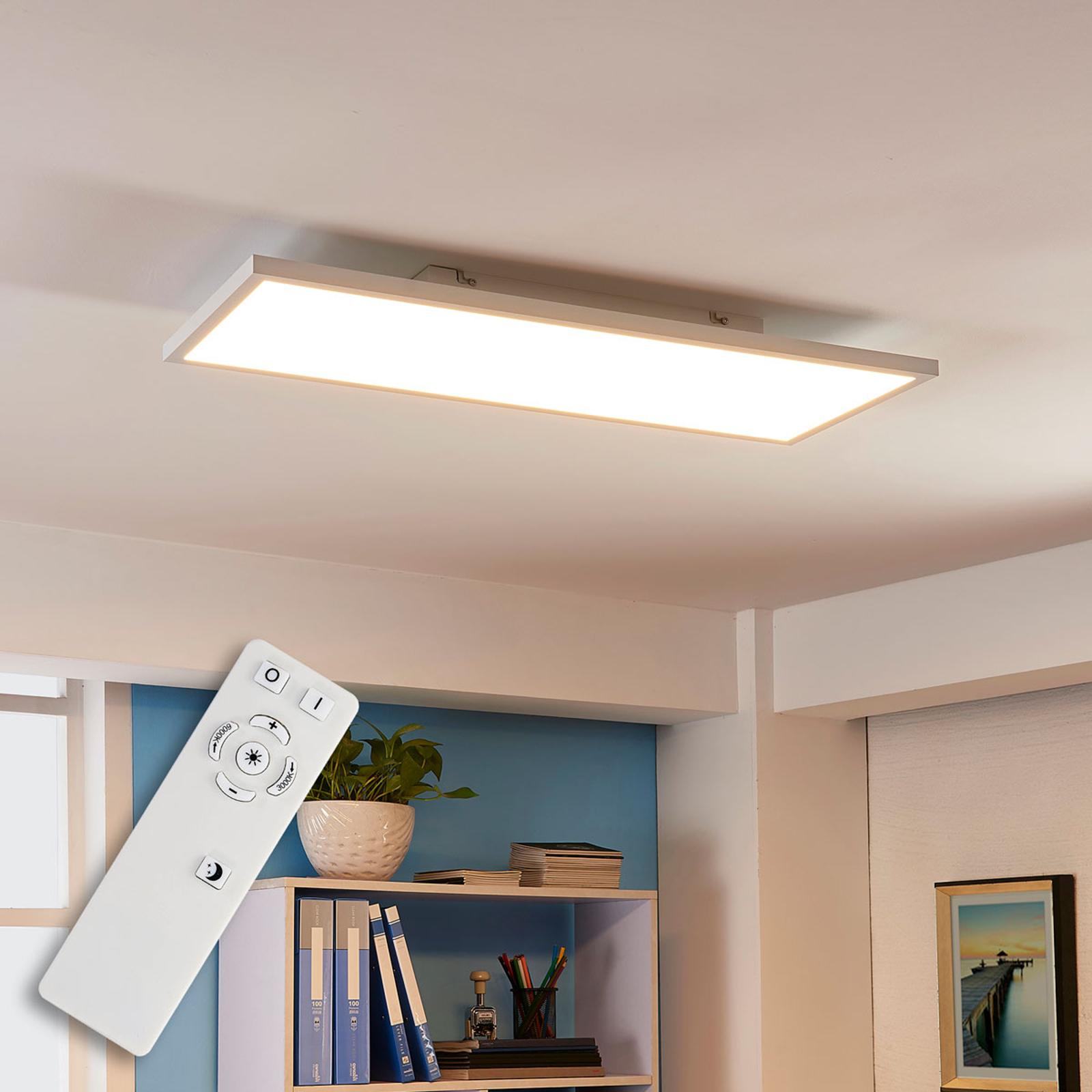 Arcchio Philia -LED-paneeli, CCT, 80 cm x 29,5 cm
