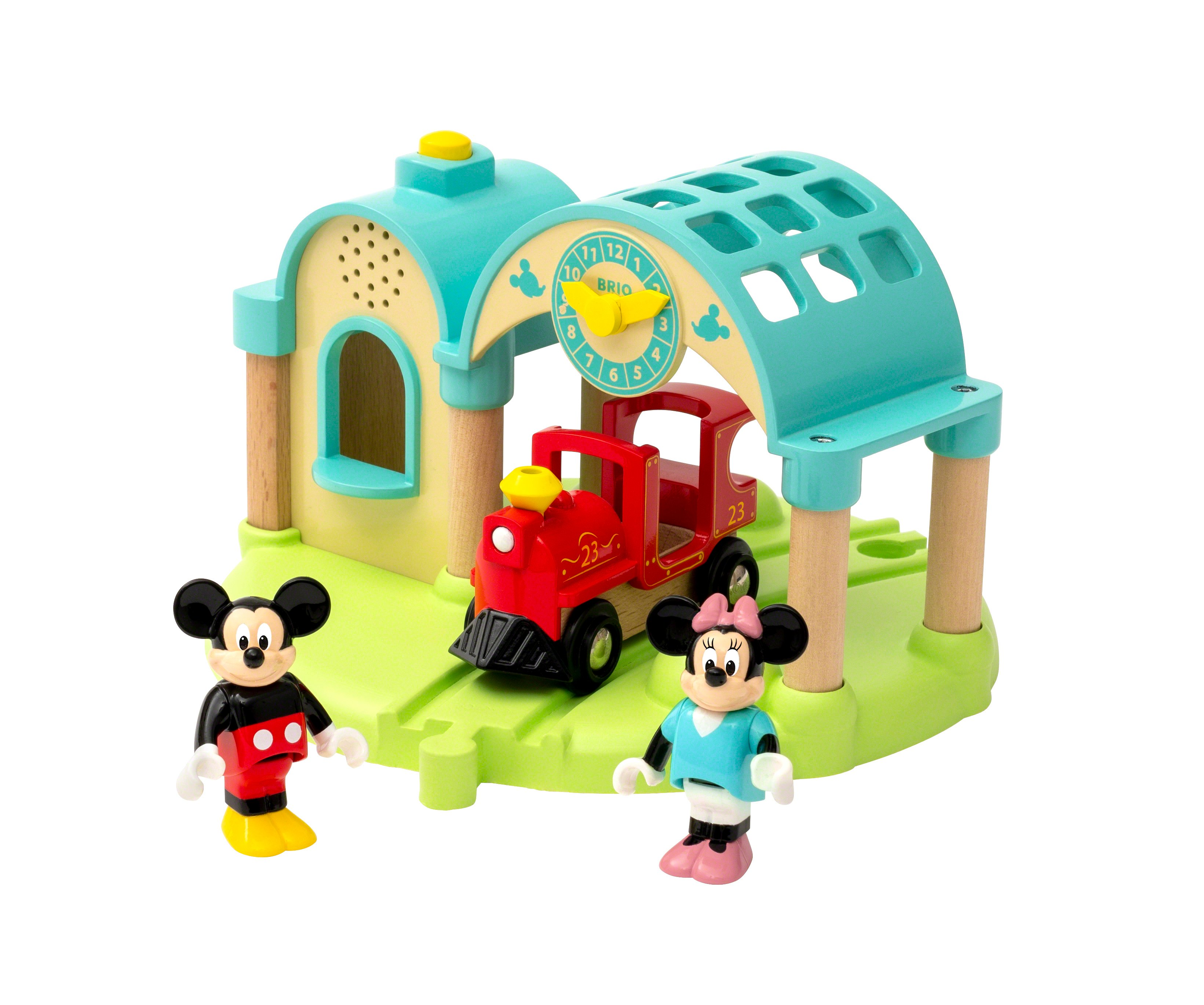 BRIO - Mickey Mouse Record & Play Station (32270)