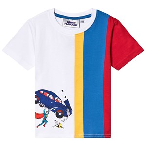 Fabric Flavours Superman Action Comic T-shirt Vit 3-4 years