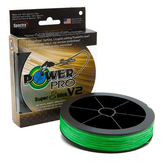 PowerPro Super 8 Slick V2 Aqua Green 135 m flätlina