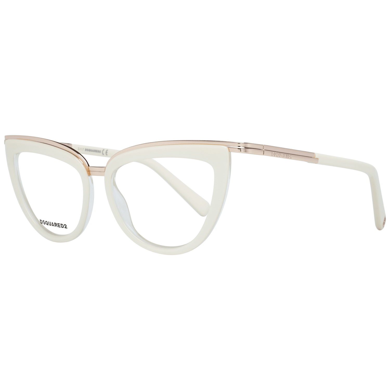 Dsquared² Women's Optical Frames Eyewear Cream DQ5238 50025