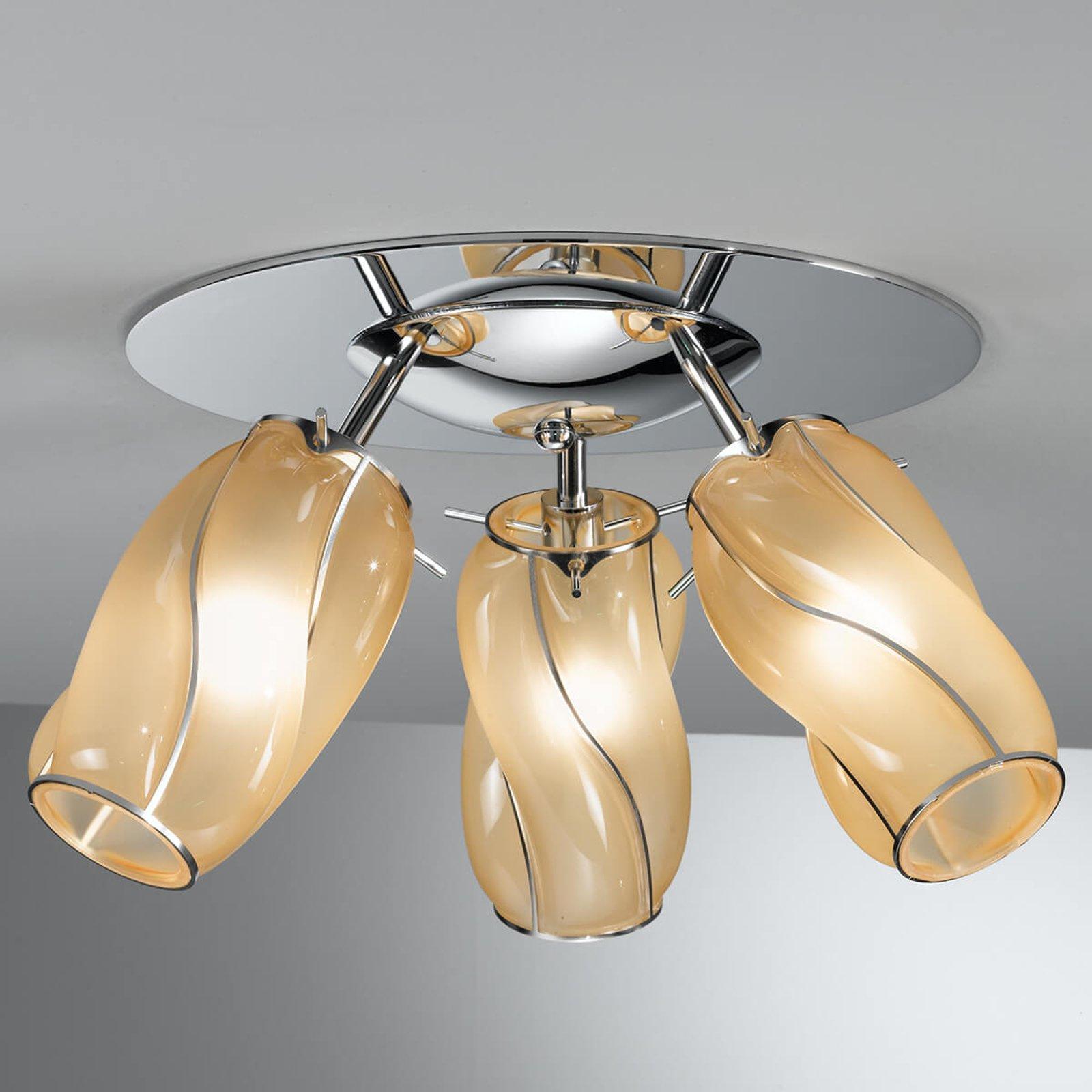 Taklampe med tre lyskilder Orione