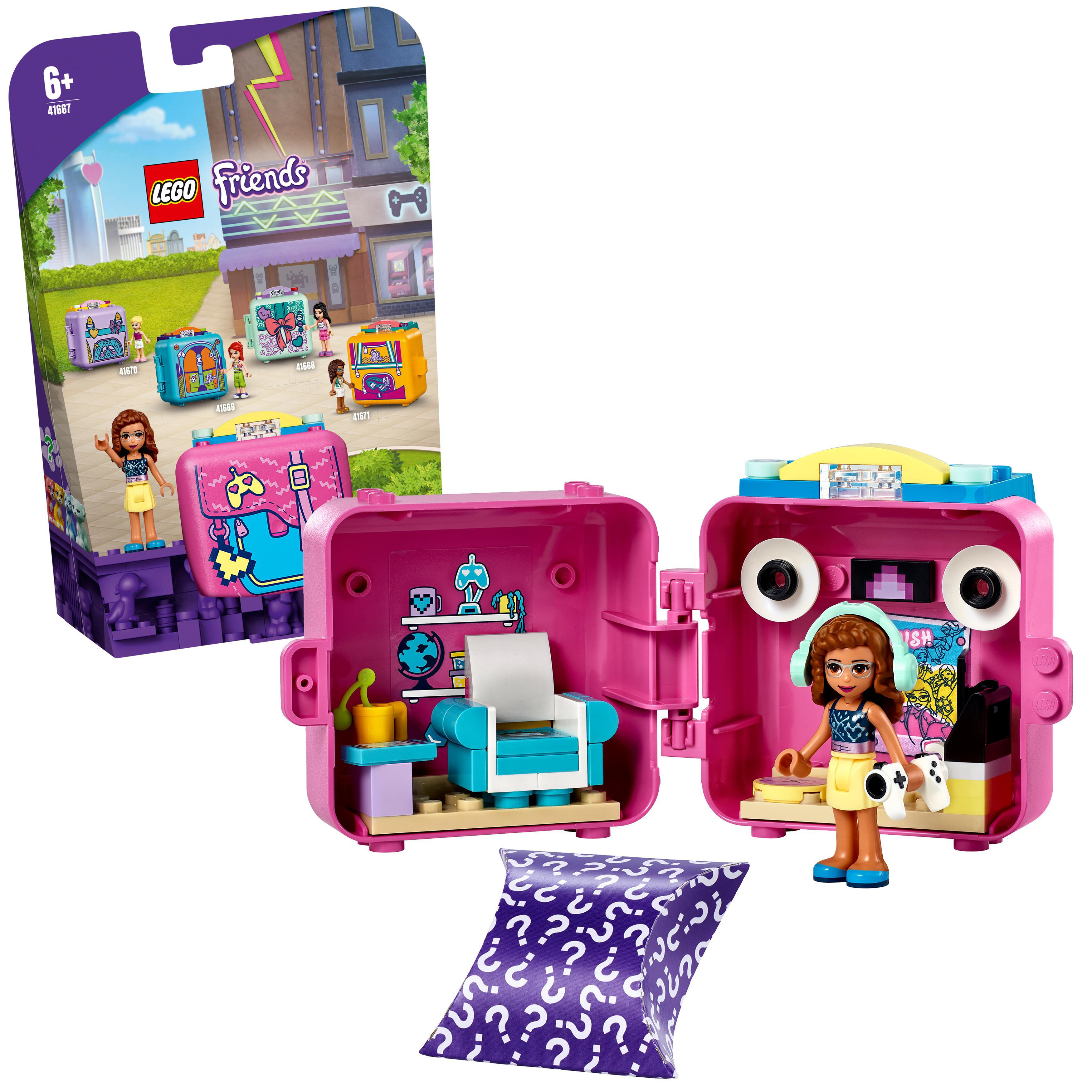 LEGO Friends - Olivia's Gaming Cube (41667)