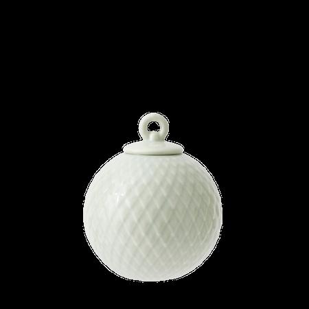 Rhombe Dekorasjonskule Ø7 cm Soft Green Porselen