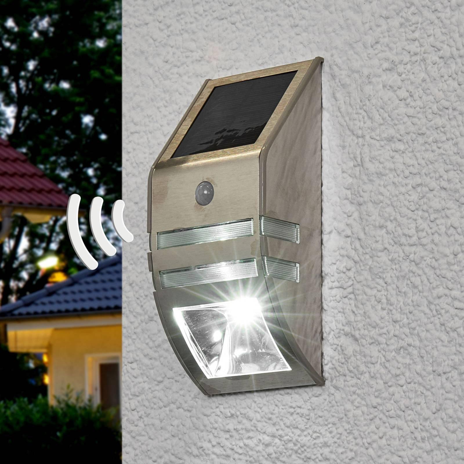 LED-solarvegglys Sol WL-2007 m. bev.
