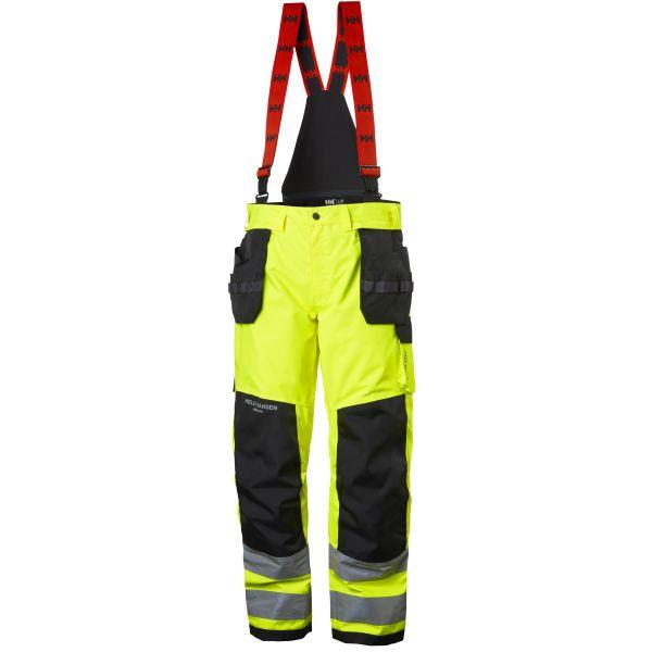Helly Hansen Workwear Alna Työhousut huomioväri, keltainen/musta C48