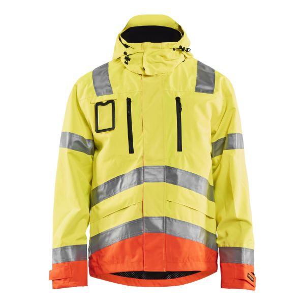 Blåkläder 8718-1977 Limited Edition Skaljacka varsel, gul/orange 4XL