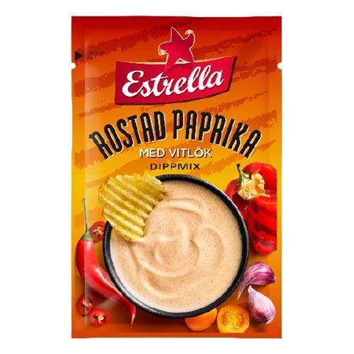 Estrella Dippmix Rostad Paprika & Vitlök