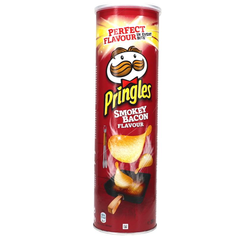 Pringles Smokey Bacon - 25% rabatt