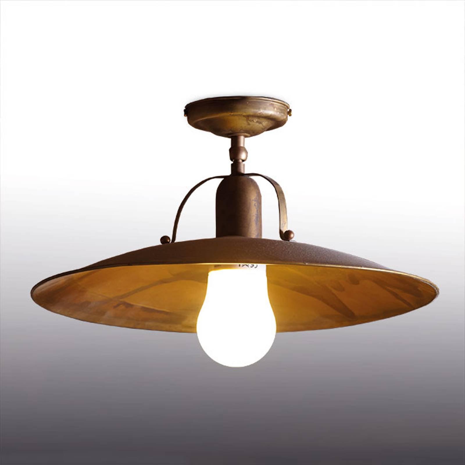 Rustikk taklampe Osteria, 39 cm