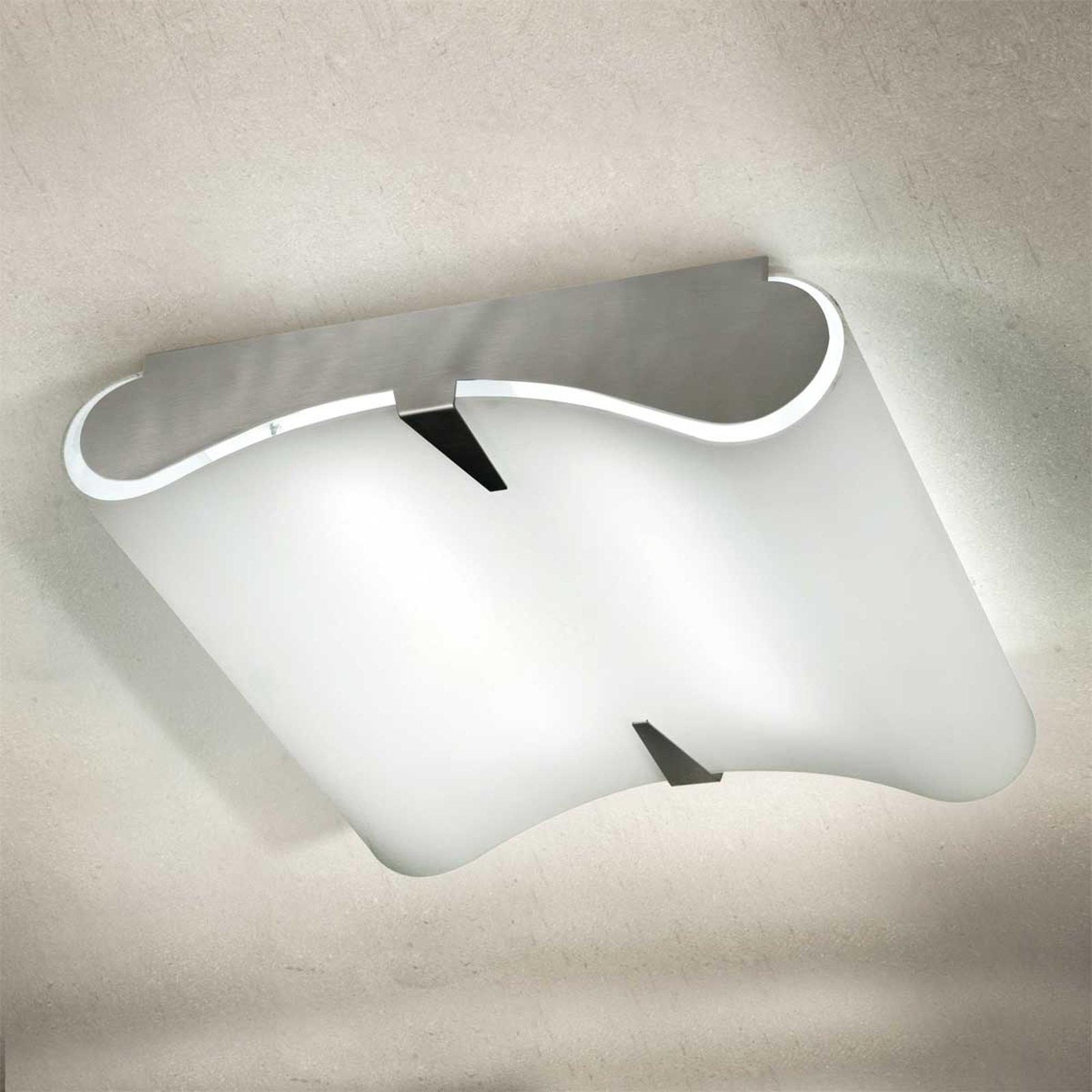Hvelvet taklampe SECRET 9220, E27, 50 x 50 cm