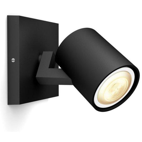 Philips Hue Runner Kohdevalaisin 5W LED, IP20 Musta