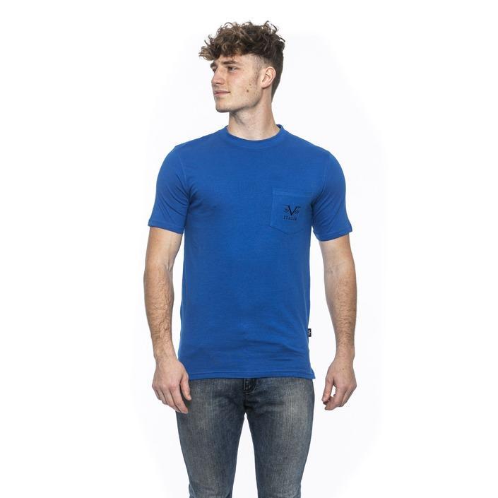 19v69 Italia Men's T-Shirt Blue 185337 - blue M