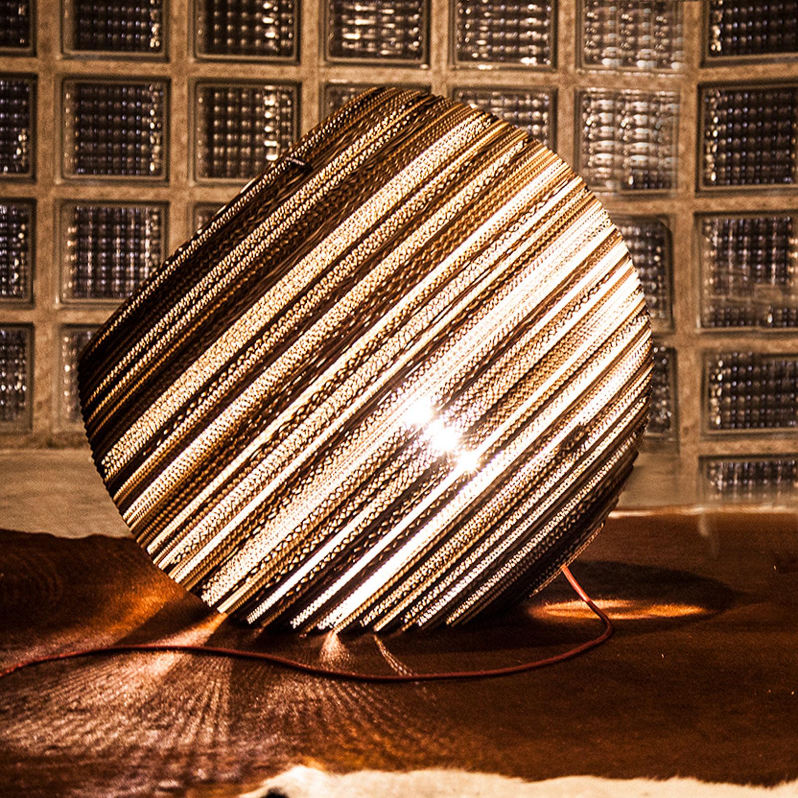 Think Paper Globe pöytävalaisin kartongista Ø 44cm