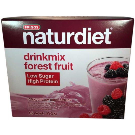 Naturdiet Drinkmix Forest fruit LSHP - 77% rabatt