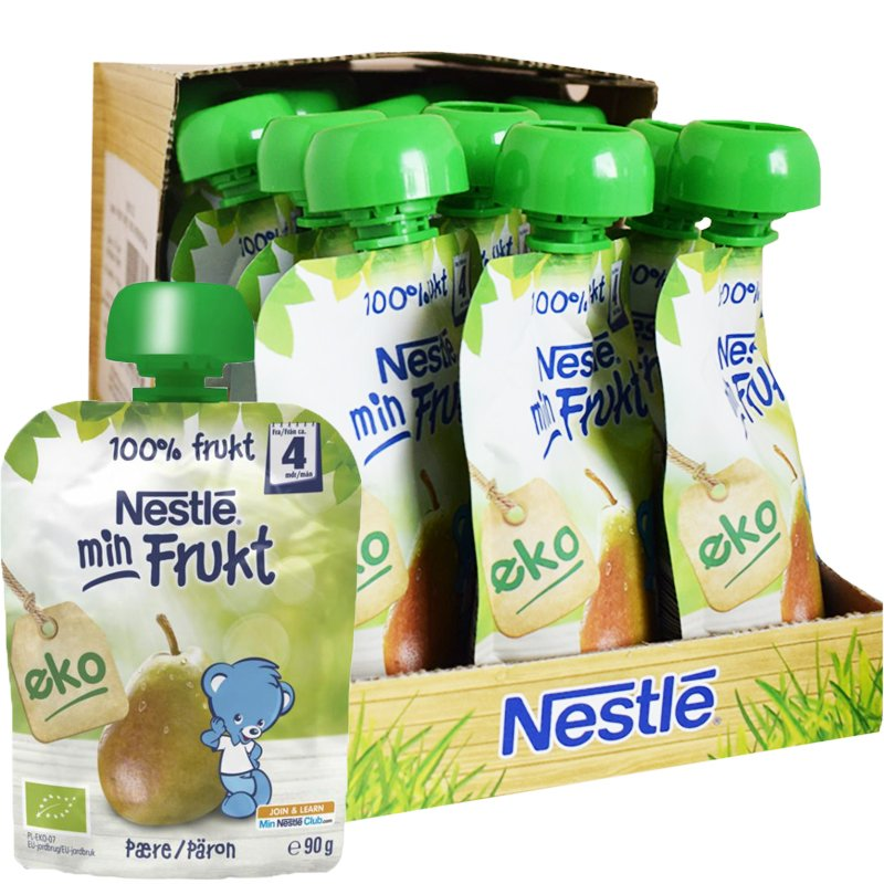 Eko Barnmat Min Frukt Päron 16-pack - 32% rabatt