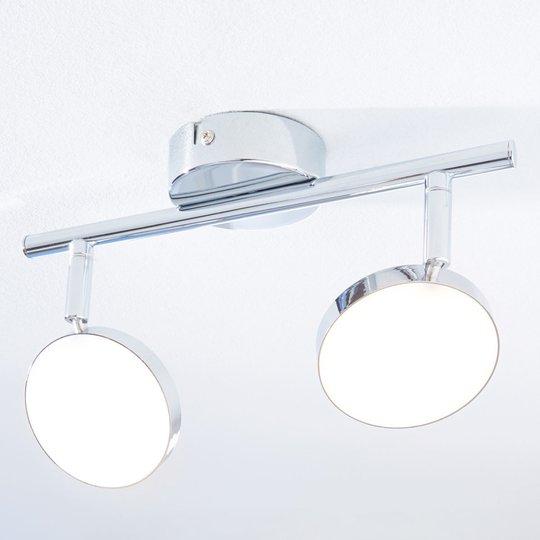 LED-kattokohdevalo Keylan, 2-lamppuinen