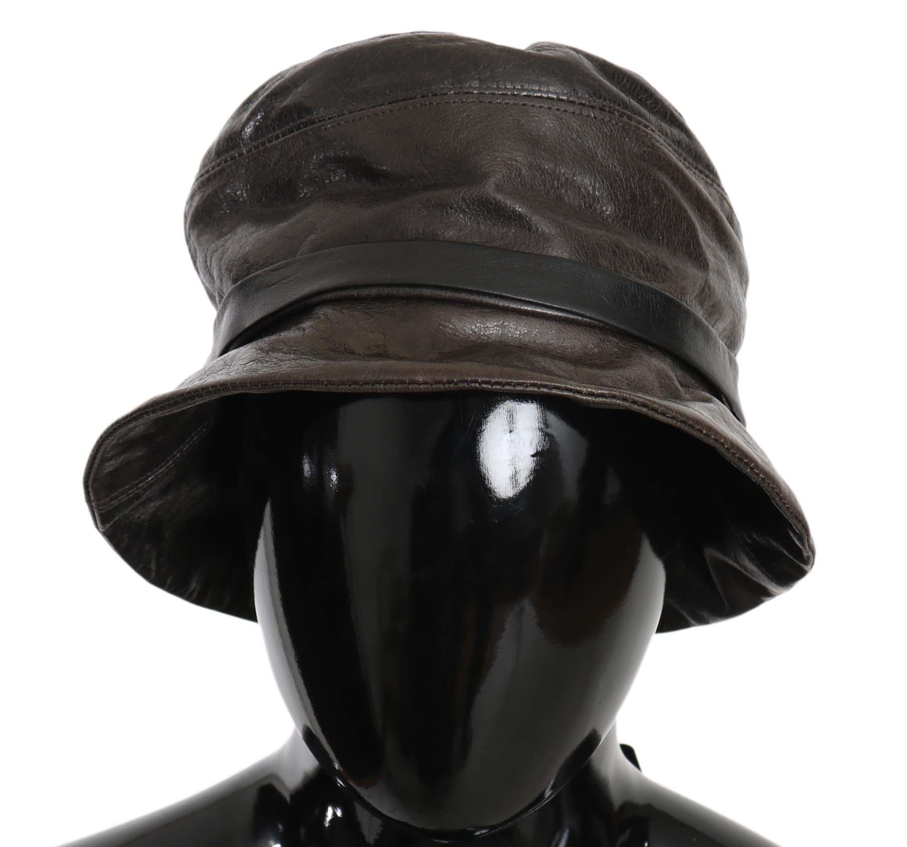 Dolce & Gabbana Women's Hat Brown HAT70217 - 56 cm XS